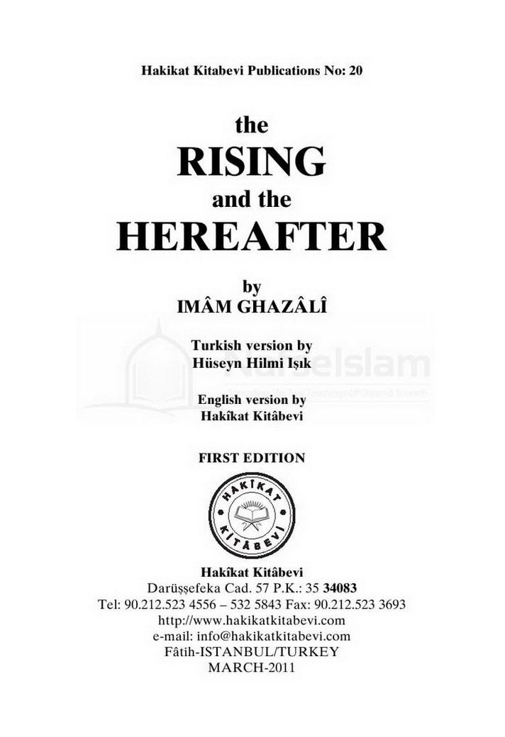 The Rising And The Hereafter